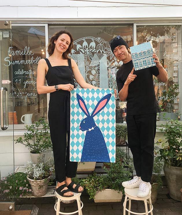 Julie-Marabelle-&-Hisashi-Tokuyoshi-Galerie-Doux-DImanche-Tokyo