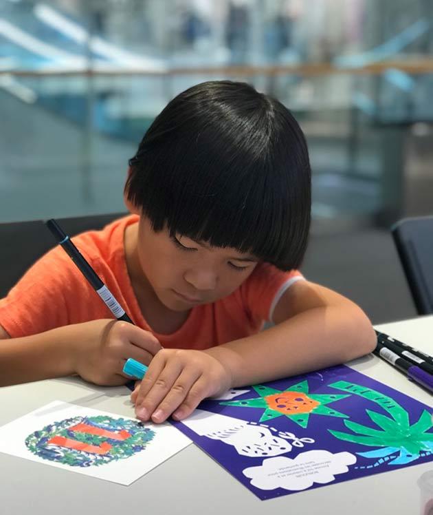 Paper-garland-workshop-by-Famille-Summerbelle-for-Bonton-Japan-2