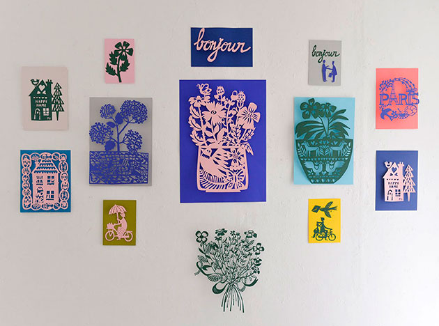 FS-Exhibition-Tokyo-Galerie-Doux-Dimanche-Paper-cut-artworks