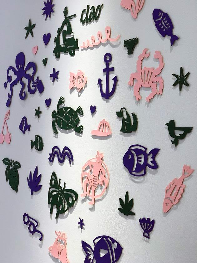 Paper-cut-illustrations-by-Julie-Marabelle-for-Bonton-Japan