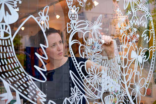 Window-Drawing-Portrait