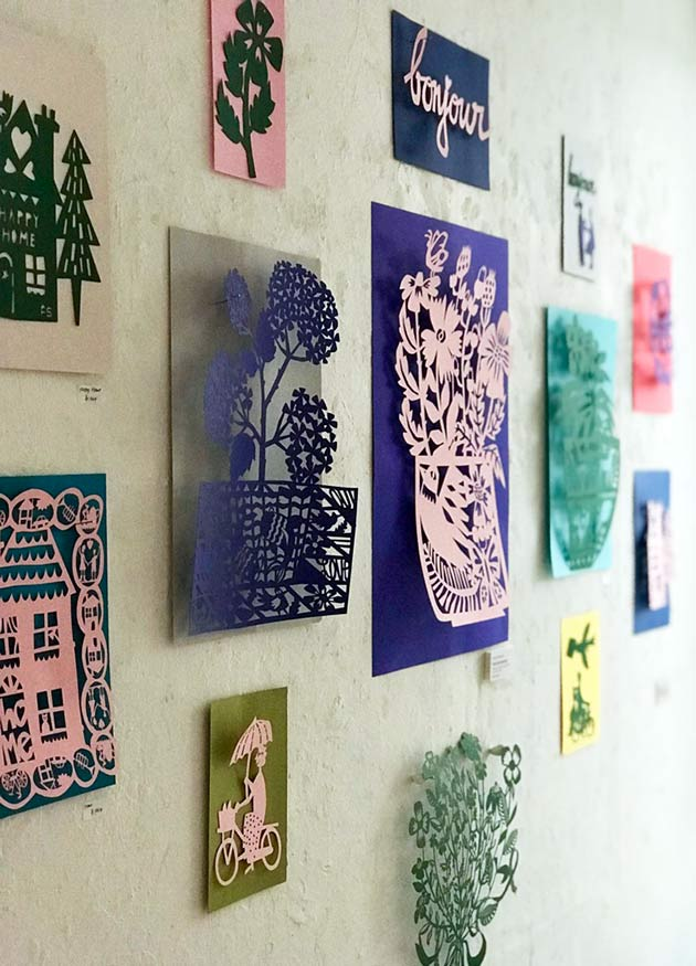Paper-cut-artworks-by-Famille-Summerbelle--Galerie-Doux-DImanche-Tokyo