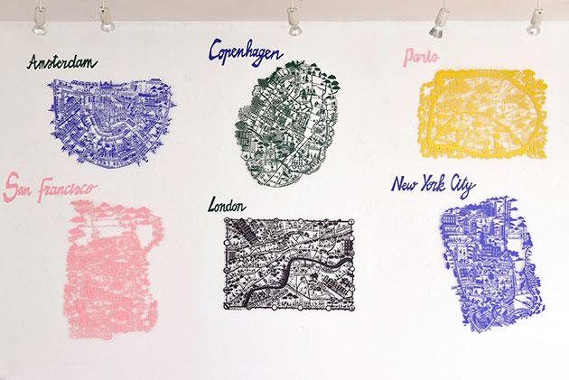 FS-Exhibition-Tokyo-Galerie-Doux-Dimanche-Paper-cut-maps