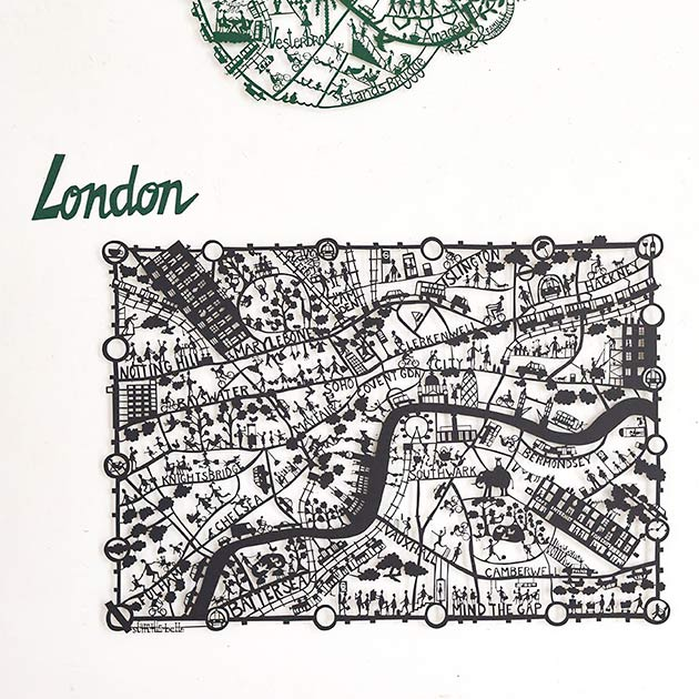 London-paper-cut-map-by-Famille-Summerbelle
