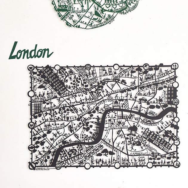 London-paper-cut-map-by-Famille-Summerbelle