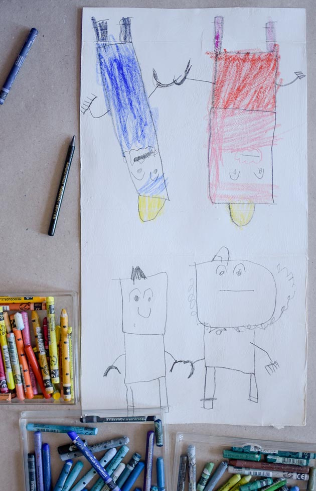 Paper-Robot-by-Teo-aged-5_Colouring