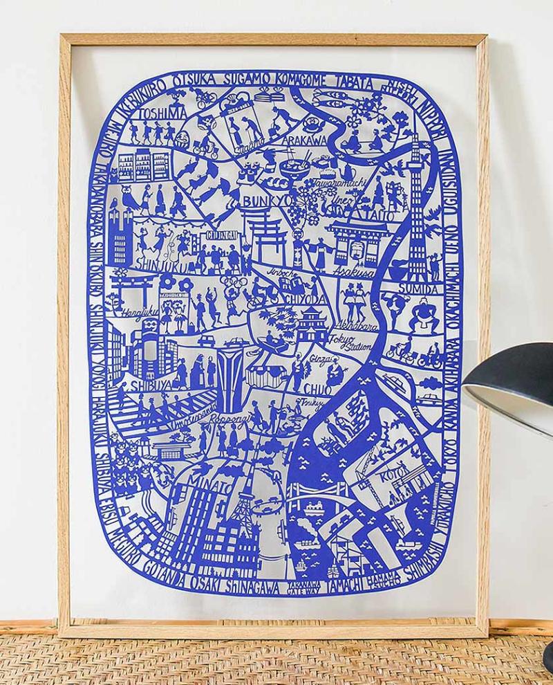 Tokyo_Blue_Framed